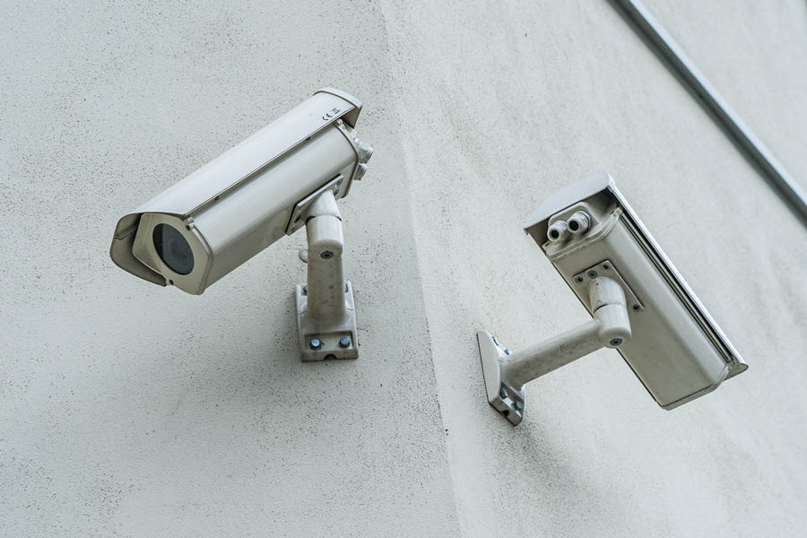 Canva - two security camera's - Smaller